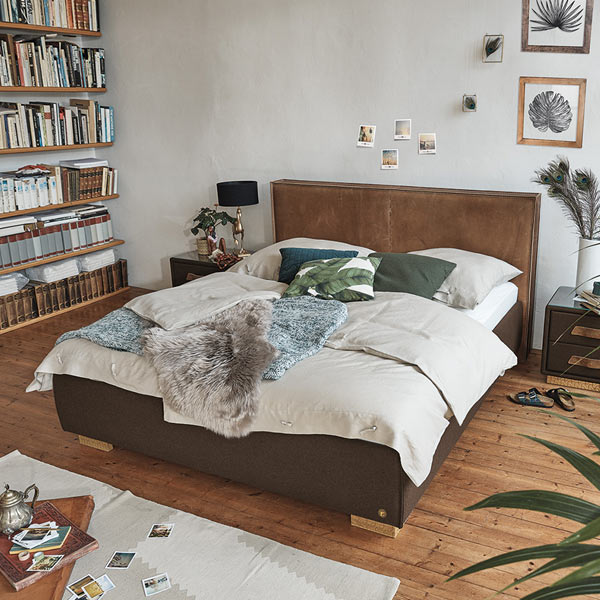 Betten mit Lederbezug von Birkenstock