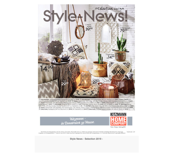 Style News Kitzmann