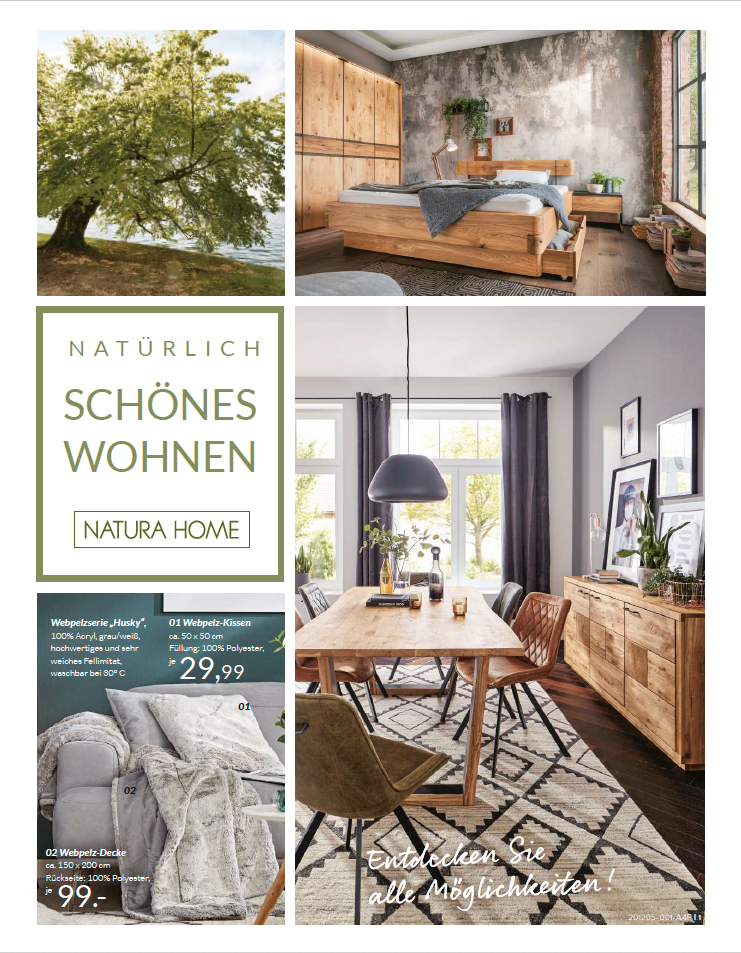 Natürlich schönes Wohnen mit der Kitzmann Home Company und Natura